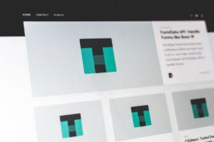 Template website design