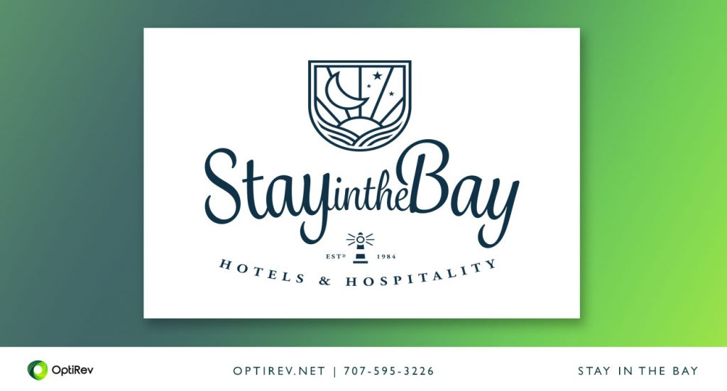 OptiRev, Stay in the Bay Brandmark