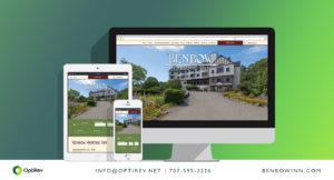 Benbow Historic Inn website design