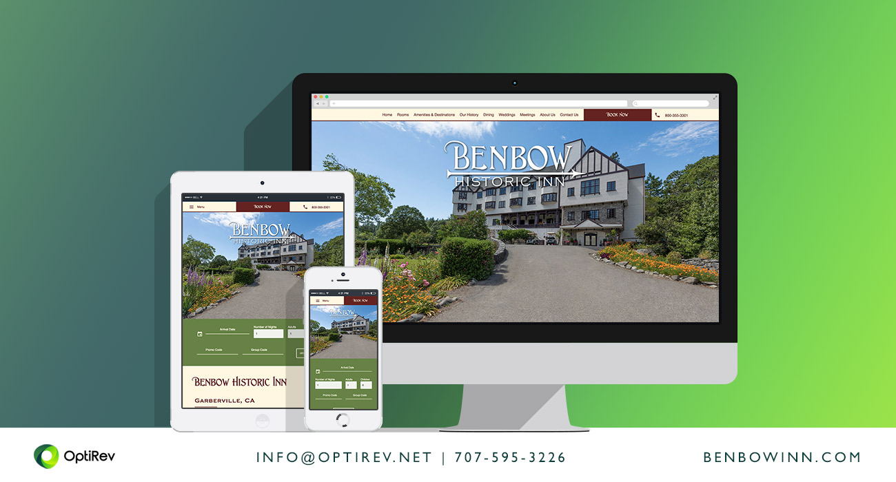 Benbow Historic Inn website design