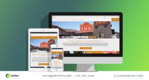 El Camino Inn Website project by OptiRev