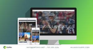 Hilinski's Hope Foundation website by OptiRev, LLC
