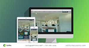 Hotel Focus SFO website by OptiRev, LLC